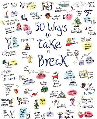 50 modi di prendersi una pausa