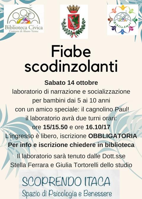 Fiabe Scodinzolanti sbarca ad Abano!